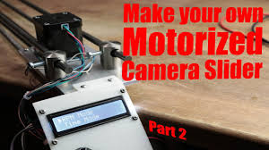 Make your own Motorized Camera Slider (Part 2) - the electronics ...