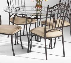 Glass Dining Table Set 4 Chairs Dining Table Design Round Glass Dining Table Set For 4 Round