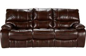 Leather Couches Cindy Crawford Home Gianna Brown Power Reclining On Design