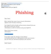 Apple warns customers about phishing emails, details legitimate