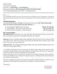 Sample Telecom Engineer Cover Letter Network Engineer Cover Letters