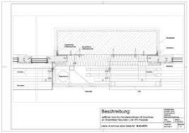 B 01 0017 Holz Alu Fensteranschluss Mit Anschluss An Hinterlüfteter