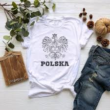 Poland Eagle Shirt Polska Polish Tshirt Bird Gifts Animal Shirt Funny Graphic Tshirt Lady Gifts Women Tumblr Shirt Bird Birthday T Shirt