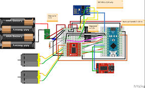 nano car wiring diagram nano image wiring diagram quick rc robot controlled by ios app arduino project hub on nano car wiring diagram