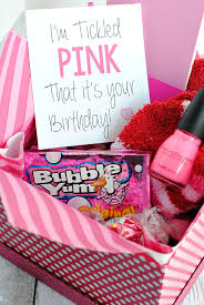 tickled pink birthday gift idea