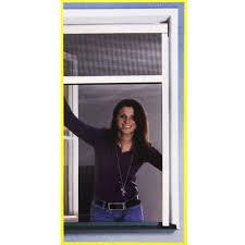 Insektenschutz Rollo 100x160cm Braun Fliegengitter Fenster Netz