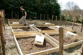 how to make a raised vegetable garden. Perfect Make Raised_bed_in_vegetable_garden With How To Make A Raised Vegetable Garden