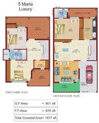 Small Picture 5 Marla House Plan Lamudi
