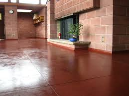 Residential Concrete Floors Decorative For With Inspiration Decorating