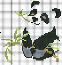 Panda Head Character Minecraft Pixel Art Template Mediaschool Info