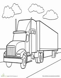 Small Picture Semi Truck Coloring Page Semi trucks Coloring books and Cricut