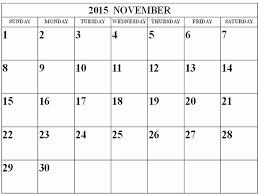 November 2015 Printable Calendar Skachaj Info