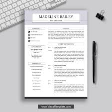 Resume Templates For Word Free Cvresume Formats To Download 2019