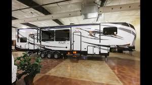 xlr thunderbolt 380 5th wheel toy hauler review at cheyenne cing center