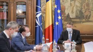 Klaus Iohannis, ședință cu prim-ministrul Florin Cîțu, vicepremierul Dan Barna și ministrul Cristian Ghinea pe tema Planului Național de Redresare și Reziliență - caleaeuropeana.ro