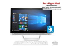 hp pavilion touchsmart 24 b206d 23 8 all in one desktop pc