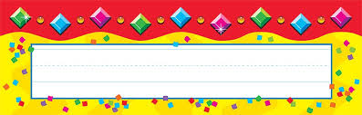 school desk name plates by 36 jazzy gems school classroom name plate desk toppers