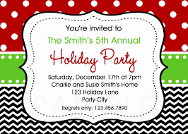 Free Invitation Template Word New Christmas Party Invitation