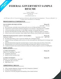 Federal Resume Gorgeous Usajobs Federal Resume Jobs Template Examples For Gov Builder 28