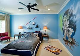 Adorable Design Of The Boys Room Paint Ideas With Blue Wall Ideas Addd With  Wall Art