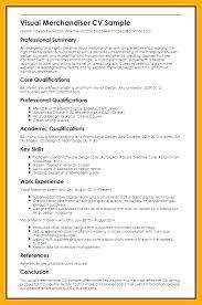 Merchandising Resume Examples Classy Visual Merchandising Resume Merchandiser Resume Sample Fashion Cover