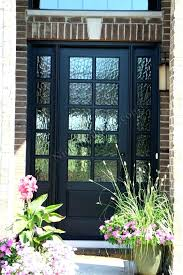 steel front doors with glass fiber commercial steel entry doors with glass