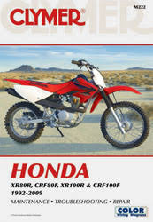 honda motorcycle manuals diy repair manuals clymer honda xr crf motorcycle 1992 2009 service and repair manual
