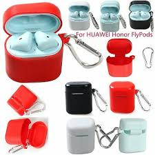 For HUAWEI Honor FlyPods <b>Silicone Box Skin Case</b> Cover Headset ...