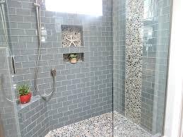 subway tile shower white subway tile shower niche
