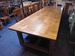 Large Oak Dining Table Seats 10 Large Dining Table Quercus Furniture