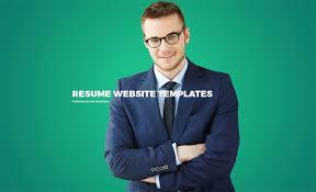Homely Design Resume Site 9 Online Website Template Sensational 15