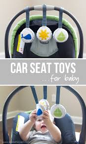 DIY Car Seat Toys...for baby! by Michaels Makers Make It and