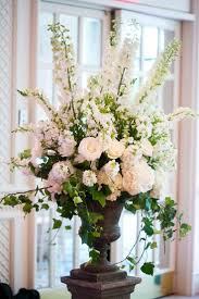 Boston Wedding at the Four Seasons. Tall Floral ArrangementsChurch ...
