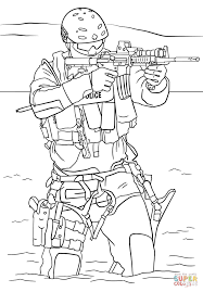 Small Picture SWAT Police coloring page Free Printable Coloring Pages