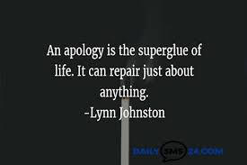 Apology Quotes Enchanting Top Ten Apology Quotes For Your Nearest Person In 48