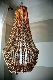 wooden bead chandelier wood bead chandelier gold beaded chandelier wooden bead chandelier wood bead chandelier nz