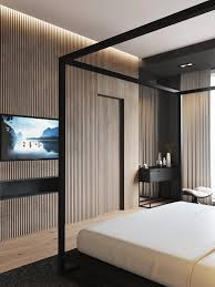 Master Bedroom Feature Wall 4 Luxury Bedrooms With Unique Wall Details
