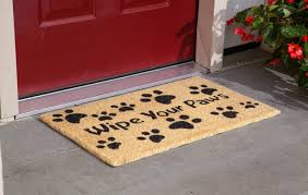 Carpet & Flooring: Beautiful Doormats For Home Accessories Ideas ...
