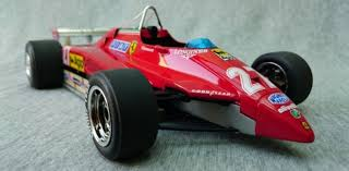 1:8 ferrari 126c2 f1 engine: Review Bbr Ferrari 126c2 Gilles Villeneuve Diecastsociety Com