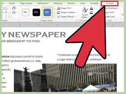 School Newspaper Layout Template Well Known How To Create A Newspaper For School Project Dg19