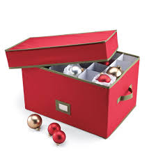 Find The Best Deals On Improvements Small Adjustable Christmas Christmas Ornament Storage