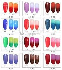 Changing Gel Color Chameleon Nail Gel Polish Soak Off Uv Led