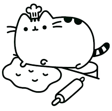 Cat Coloring Pages For Kids Fat Cat Coloring Pages Printable Cat And