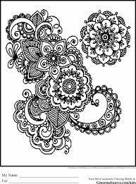 Small Picture Design Cool Pictures To Colour In Coloring Page Geometric