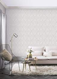 Arthouse New York Geo Grey Wallpaper ...