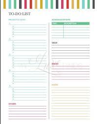 To Do List Daily Tasks Printable Home Management Folder