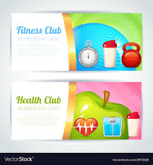 Club Card Design Fitness Club Card Design Royalty Free Vector Image 22
