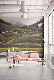 Iceland Mountain Wallpaper Decor