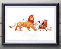 Lion King Bedroom Decorations Lion King Etsy