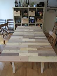 Adventures Of A Diy Girl Kitchen Table From Pallet To Table Top
